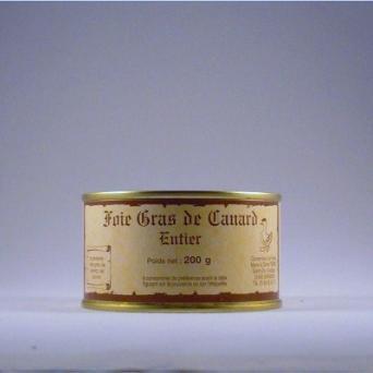Foie Gras de canard entier  200 g